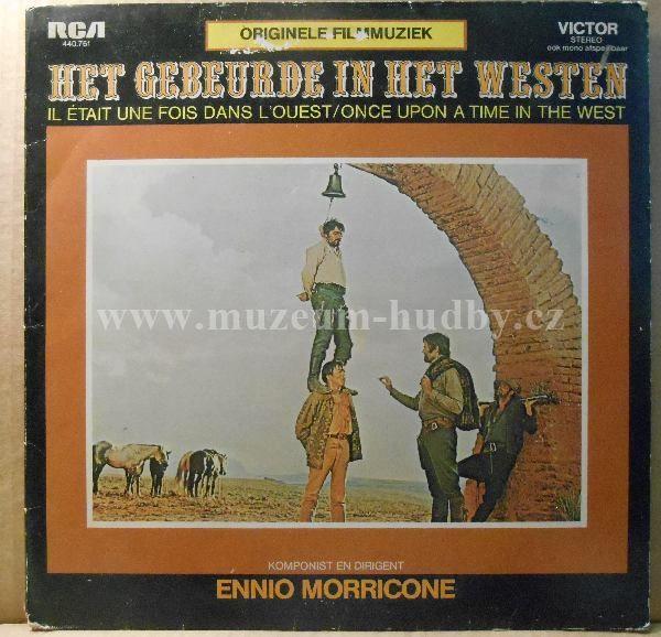 """Ennio Morricone: Het Gebeurde In Het Westen / Il Était Une Fois Dans L'Ouest / Once Upon A Time In The West - Vinyl(33"""" LP)"""