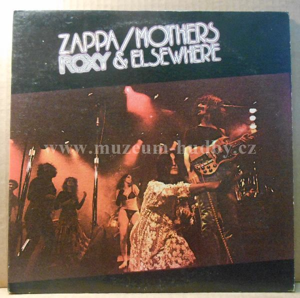 "Frank Zappa / Mothers: Roxy & Elsewhere - Vinyl(33"" LP)"