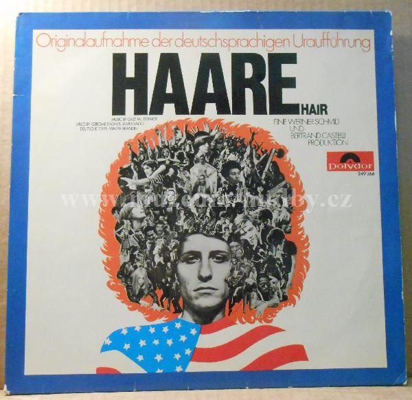 "Haare Ensemble – Haare (Hair): Haare Ensemble – Haare (Hair) - Vinyl(33"" LP)"