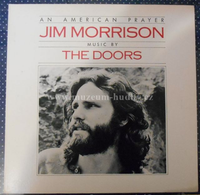 "Jim Morrison Music By Doors: An American Prayer - Vinyl(33"" LP)"