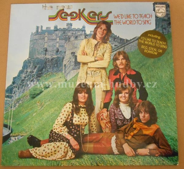 """New Seekers: We'd Like To Teach The World To Sing - Vinyl(33"""" LP)"""