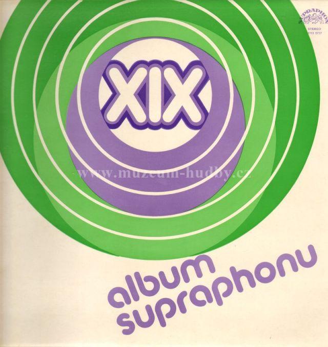 "Petr Rezek,Jana Kratochvilova,Lenka Filipova,Karel Zich: XIX. album supraphonu - Vinyl(33"" LP)"