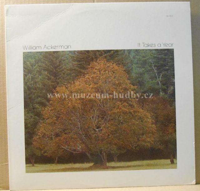 "William Ackerman: It Takes A Year - Vinyl(33"" LP)"