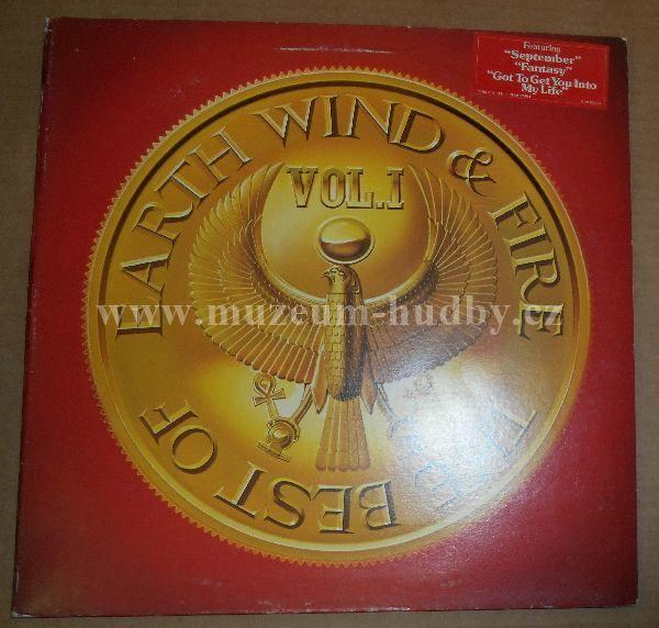 "Earth, Wind & Fire: The Best Of Earth, Wind & Fire Vol. I - Vinyl(33"" LP)"