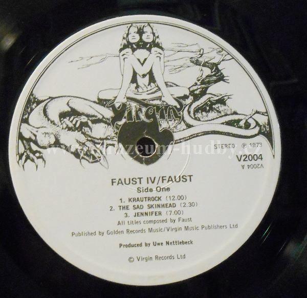 "Faust: Faust IV - Vinyl(33"" LP)"