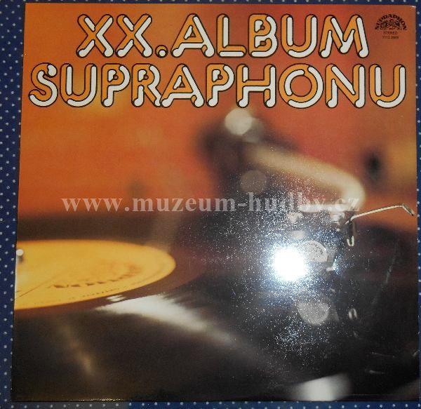 "Jana Kratochvilova, Petr Janda a Olympic,Michal Tucny: XX.Album Supraphonu - Vinyl(33"" LP)"