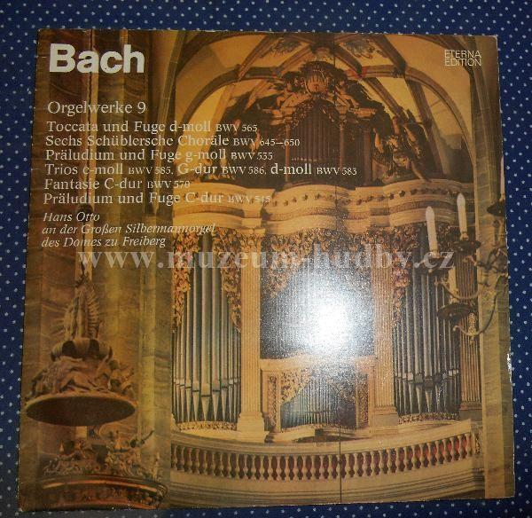 "Johann Sebastian Bach, Hans Otto: Bachs Orgelwerke Auf Silbermannorgeln 9 - Vinyl(33"" LP)"