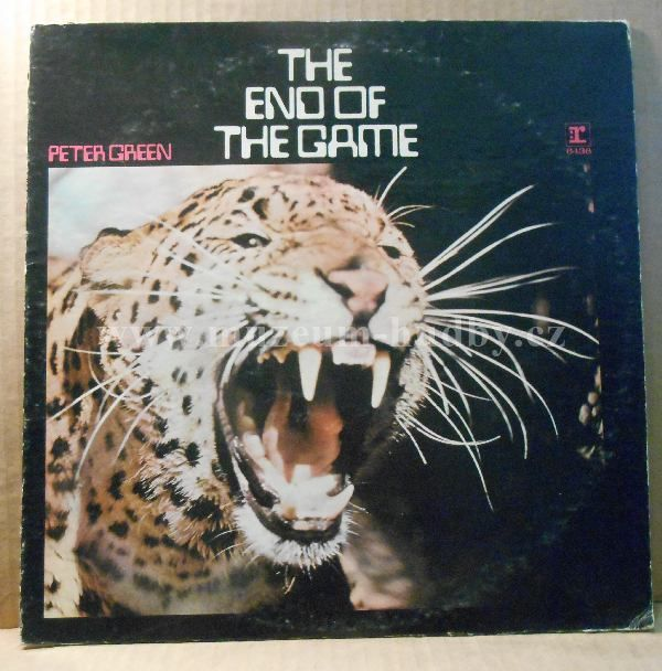 """Peter Green [Fleetwood Mac]: The End Of The Game - Vinyl(33"""" LP)"""