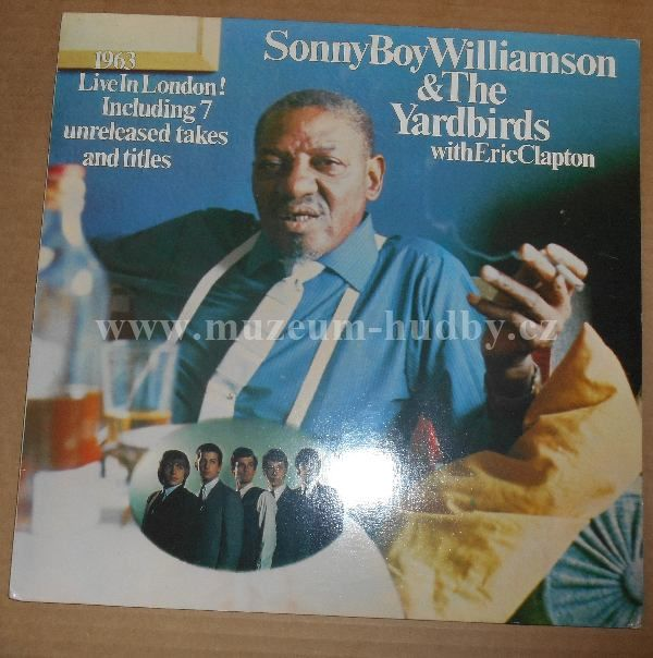 "Sonny Boy Williamson & Yardbirds / Eric Clapton: 1963 Live In London! - Vinyl(33"" LP)"