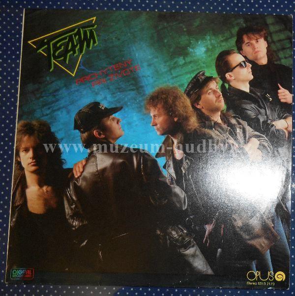 """Team: Prichytený Pri Živote - Vinyl(33"""" LP)"""