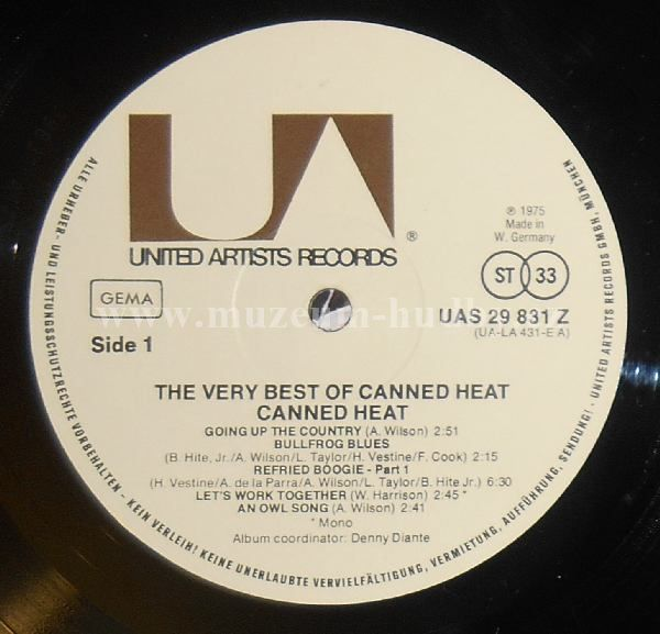 Canned Heat The Very Best Of Canned Heat Online Vinyl