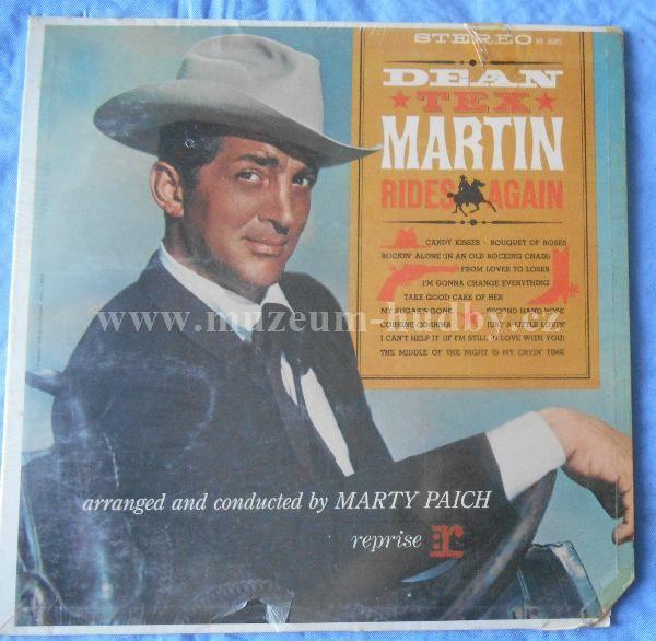 """Dean Martin: Rides Again - Vinyl(33"""" LP)"""