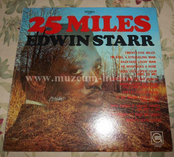 "Edwin Starr: 25 Miles - Vinyl(33"" LP)"