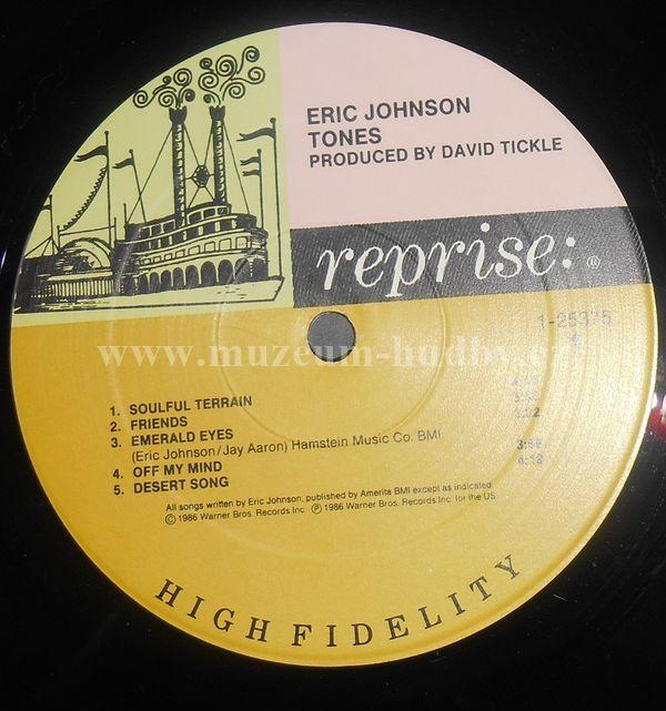 Eric Johnson Tones Online Vinyl Shop Gramofonov 233 Desky