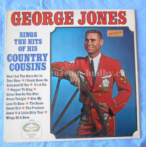 "George Jones: Sings The Hits Of His Country Cousins - Vinyl(33"" LP)"
