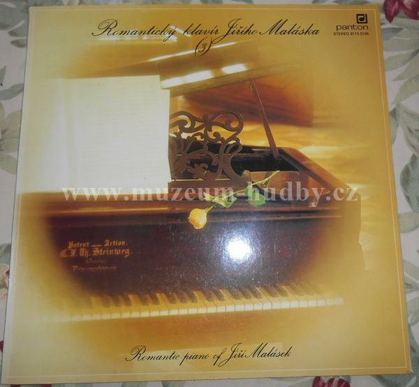 """Jiří Malásek: Romantický Klavír Jiřího Maláska 3 (Romantic Piano Of Jiří Malásek) - Vinyl(33"""" LP)"""