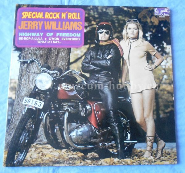 "Jerry Williams: Leader Of The Pack - Vinyl(33"" LP)"