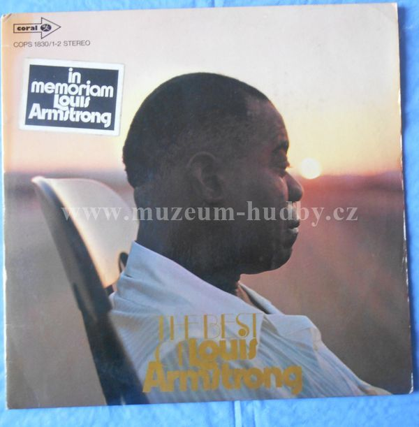 "Louis Armstrong: The Best Of Louis Armstrong - Vinyl(33"" LP)"