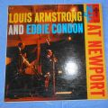 Louis Armstrong and Eddie Condon