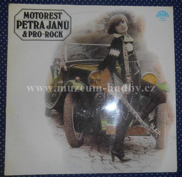 """Petra Janů & Pro-Rock: Motorest - Vinyl(33"""" LP)"""
