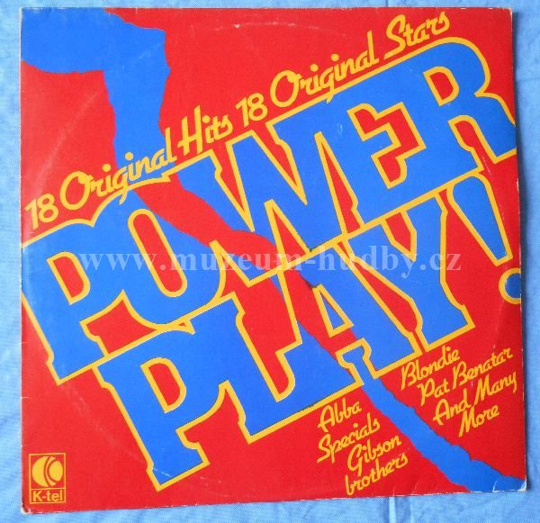 """Power Play!: ABBA / Madness / Hall And Oates / Genesis / Manfred Mann's Earth Band - Vinyl(33"""" LP)"""