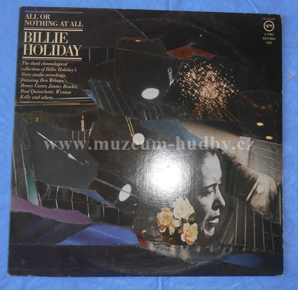 "Billie Holiday: All Or Nothing At All - Vinyl(33"" LP)"