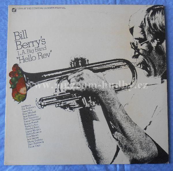 """Bill Berry's L.A. Big Band: Hello Rev - Vinyl(33"""" LP)"""