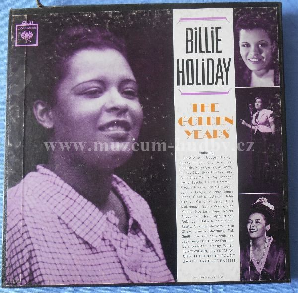 "Billie Holiday: The Golden Years - Vinyl(33"" LP)"