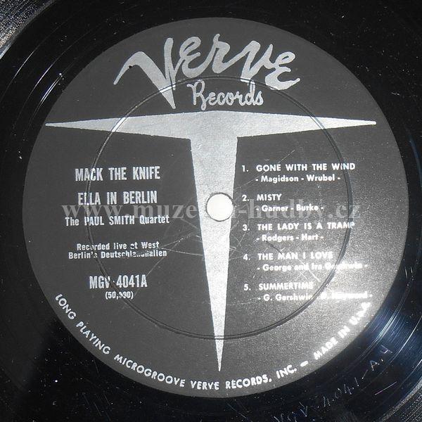 Ella Fitzgerald Mack The Knife Ella In Berlin Online