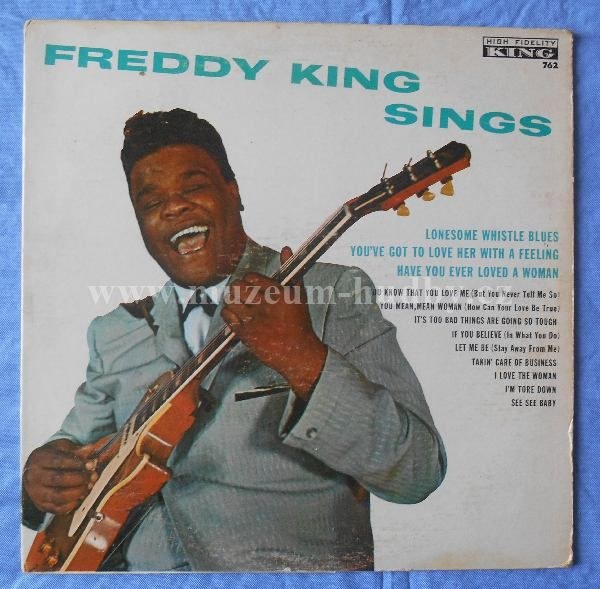 "Freddy King: Freddy King Sings - Vinyl(33"" LP)"