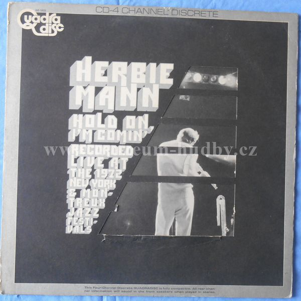 "Herbie Mann: Hold On, I'm Comin' - Vinyl(33"" LP)"