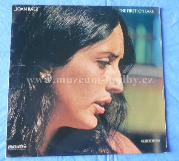 "Joan Baez: The First 10 Years - Vinyl(33"" LP)"