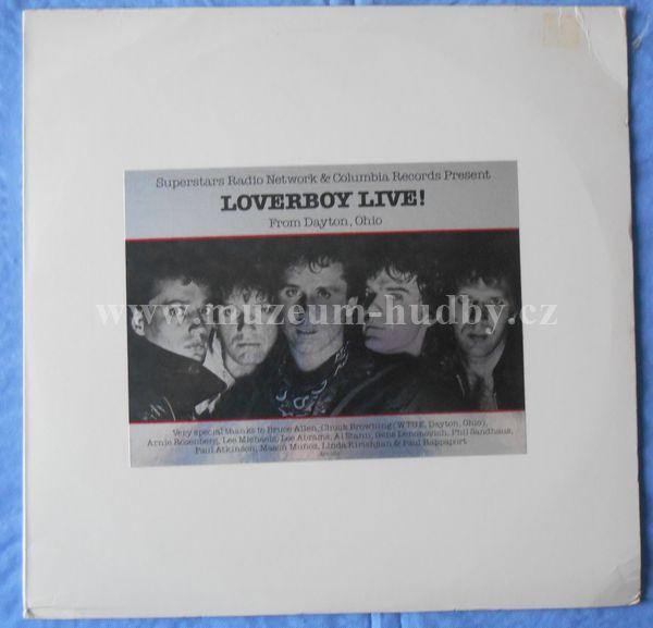 "Loverboy: Loverboy Live! (From Dayton, Ohio) - Vinyl(33"" LP)"