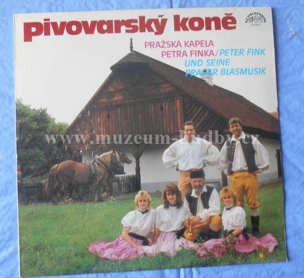 """Pražská Kapela Petra Finka: Pivovarský Koně - Vinyl(33"""" LP)"""