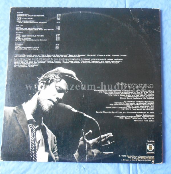 Tom Waits Nighthawks At The Diner Online Vinyl Shop