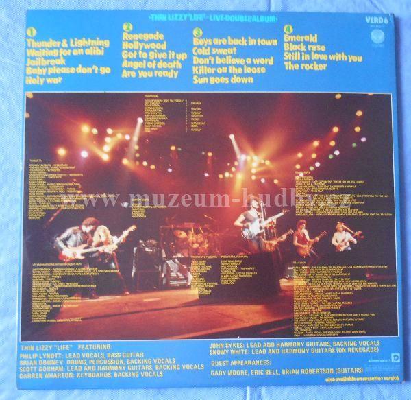 Thin Lizzy Life Live Online Vinyl Shop Gramofonov 233 Desky