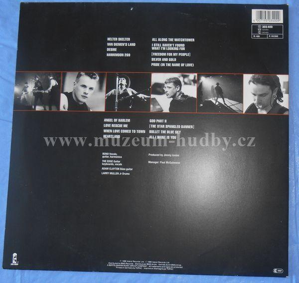 U2-Rattle And Hum - Product detail | online vinyl shop