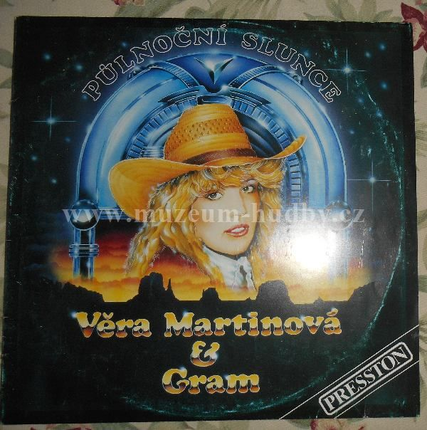 """Věra Martinová & Gram: Půlnoční Slunce - Vinyl(33"""" LP)"""