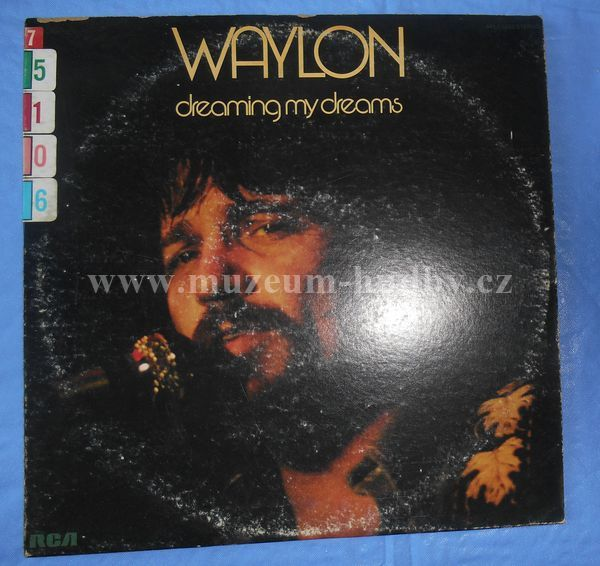 "Waylon Jennings: Dreaming My Dreams - Vinyl(33"" LP)"