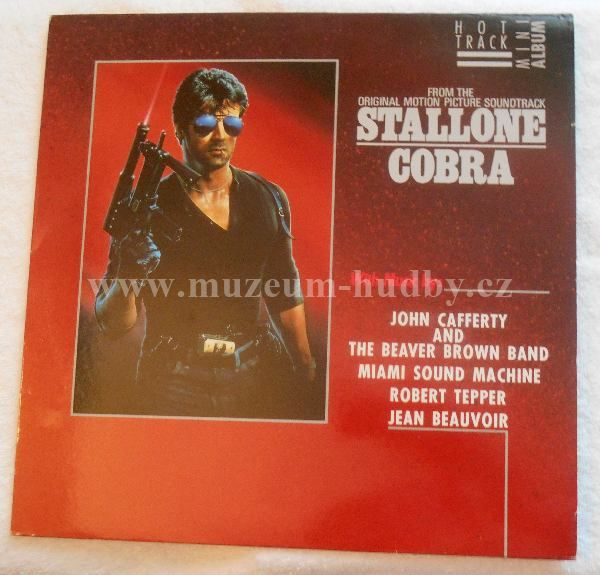 "Miami Sound Machine / Jean Beauvoir / Robert Tepper / John Cafferty: Stallone Cobra (From The Original Motion Picture Soundtrack) - Vinyl(33"" LP)"