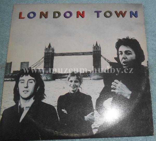 "Wings [Paul McCartney - Beatles]: London Town - Vinyl(33"" LP)"