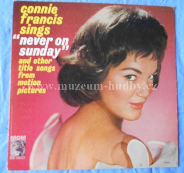 """Connie Francis: Never On Sunday - Vinyl(33"""" LP)"""