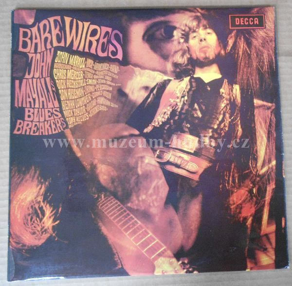 "John Mayall's Bluesbreakers: Bare Wires - Vinyl(33"" LP)"
