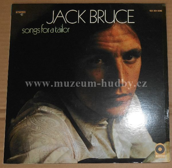 "Jack Bruce: Songs For A Tailor - Vinyl(33"" LP)"