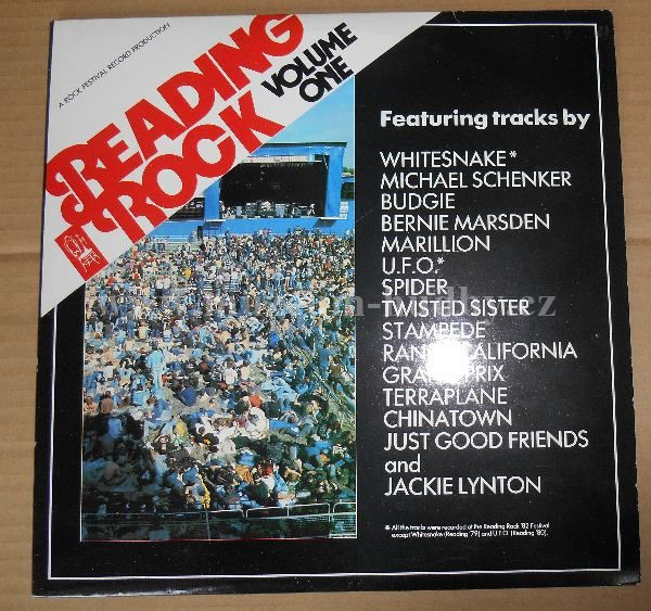 "Whitesnake / Budgie / Twisted Sister / Marillion / Randy California: Reading Rock '82 - Vinyl(33"" LP)"