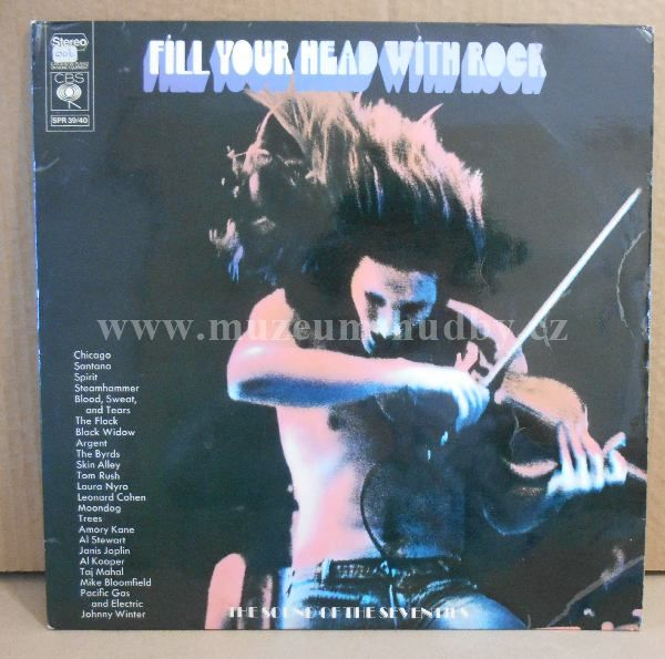 "Chicago / Santana / Spirit / Flock / Argent: Fill Your Head With Rock - Vinyl(33"" LP)"
