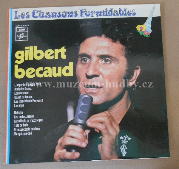 Gilbert Becaud-Les Chansons Formidables - Product detail   online