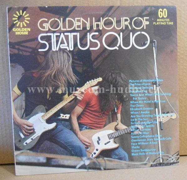 """Status Quo: Golden Hour Of Status Quo - Vinyl(33"""" LP)"""