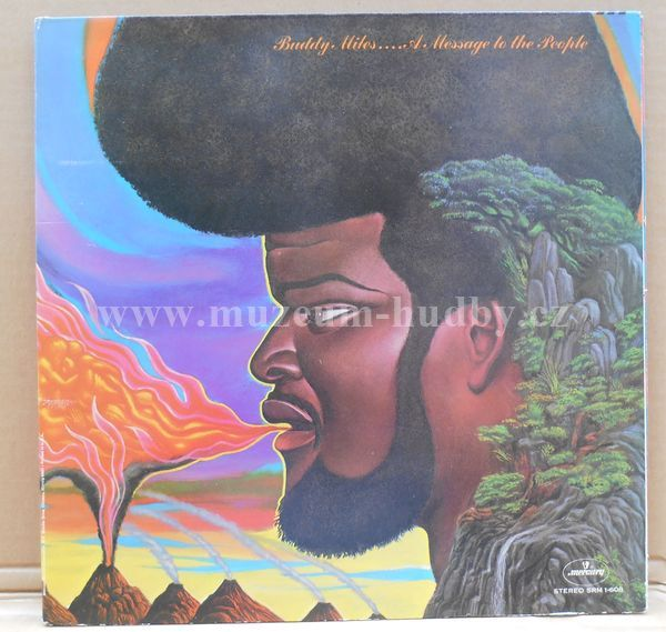 """Buddy Miles: A Message To The People - Vinyl(33"""" LP)"""