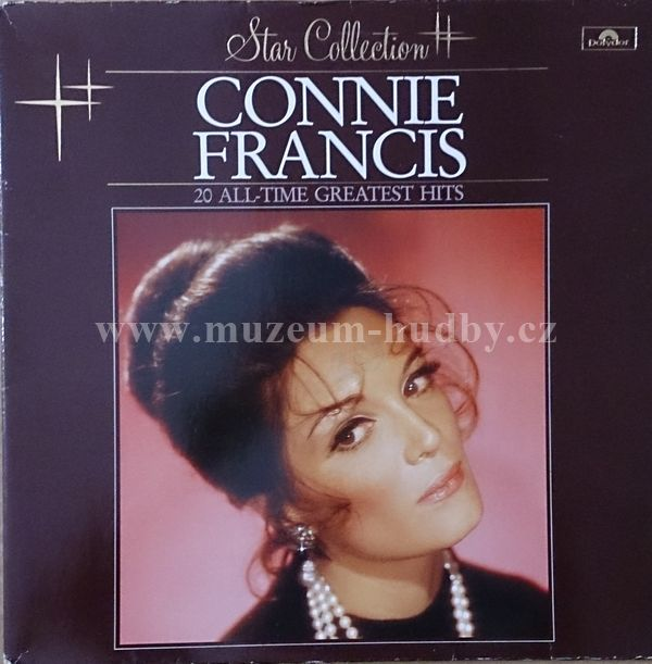 """Connie Francis: 20 All Time Greatest Hits - Vinyl(33"""" LP)"""